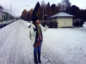 Hoc-sinh-Phuong-Oanh-đang-hoc-tai-Rovaniemi
